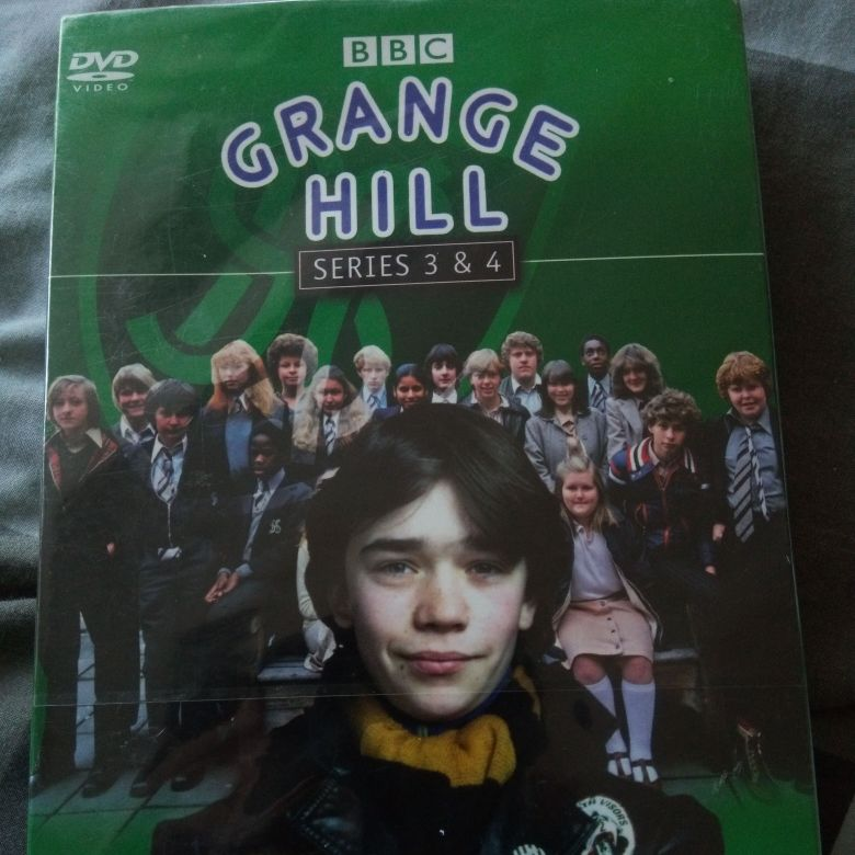 Grange Hill Series 3&4  Dvd Boxset