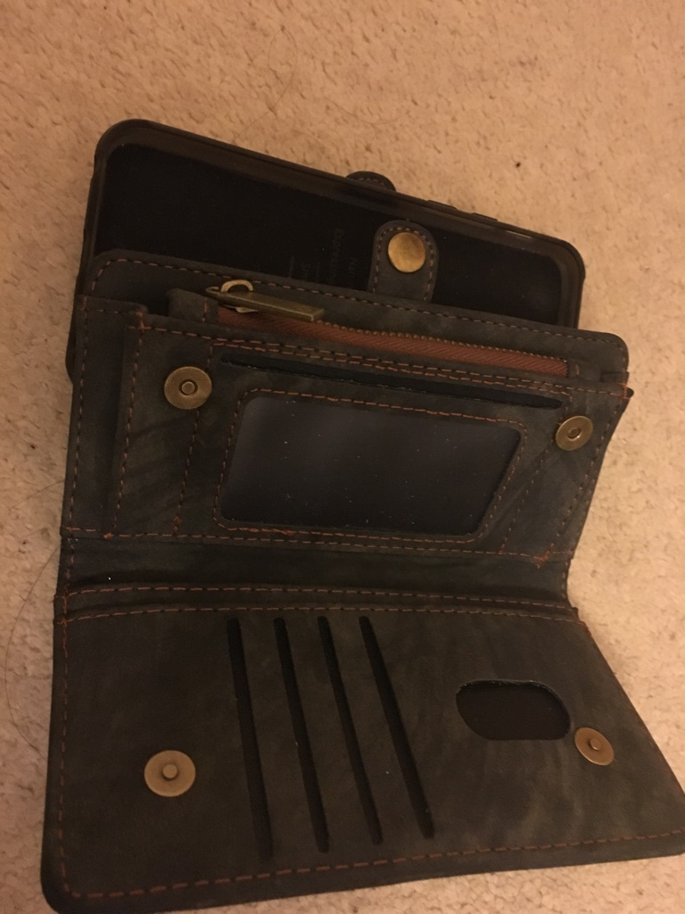 iPhone 5s case/ wallet