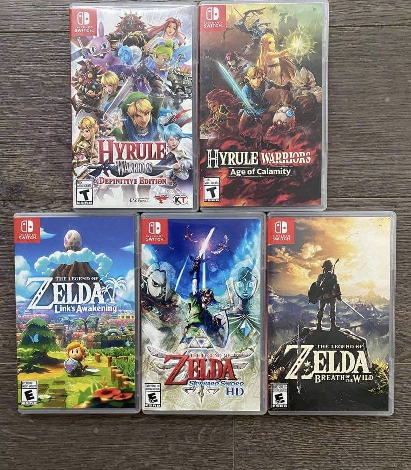 Nintendo Switch Games 4 for £75 9 for £100