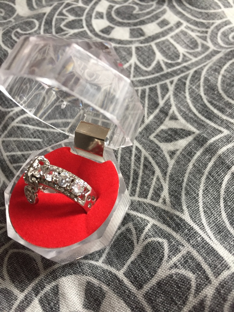 Sapphire ring size N