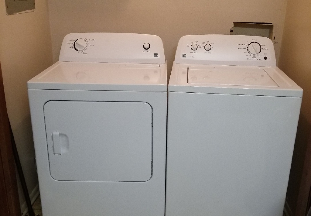 Kenmore Wash &dryer