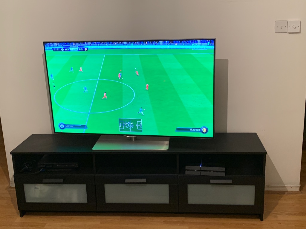 BRIMNES IKEA TV Stand black (brand new- used for a week)