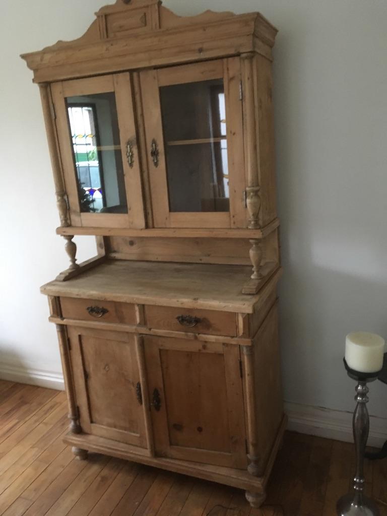 Original Czechoslovak Dresser with many fine details