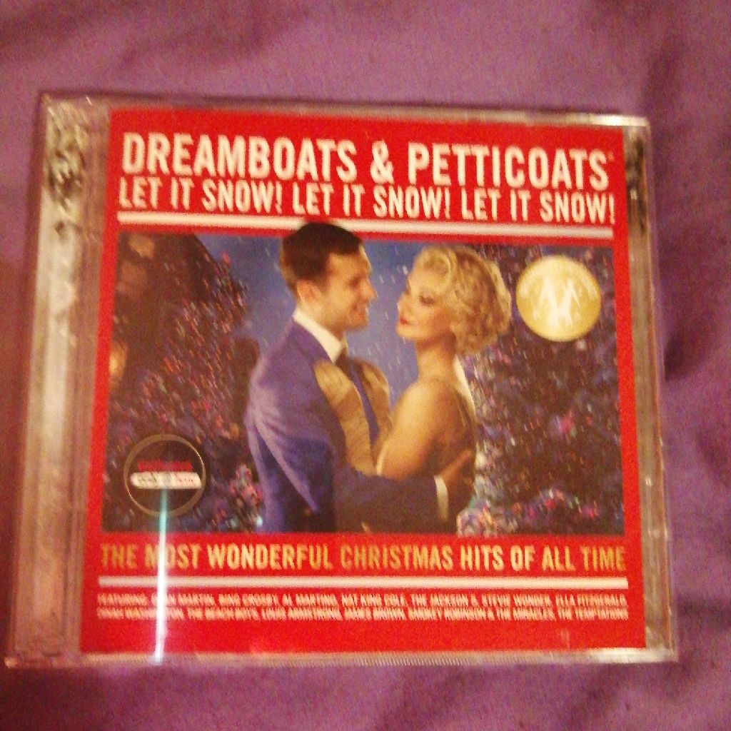 Dreamboats & Petticoats let it snow cd
