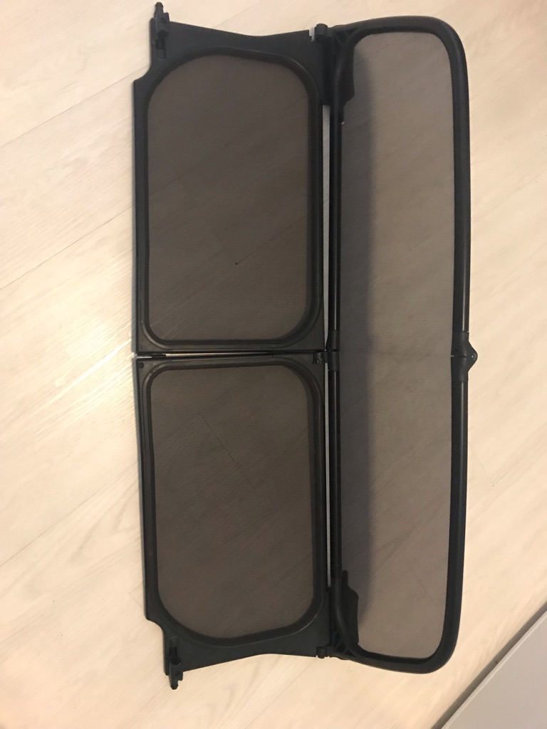 Wind deflector for Mini Cooper r52