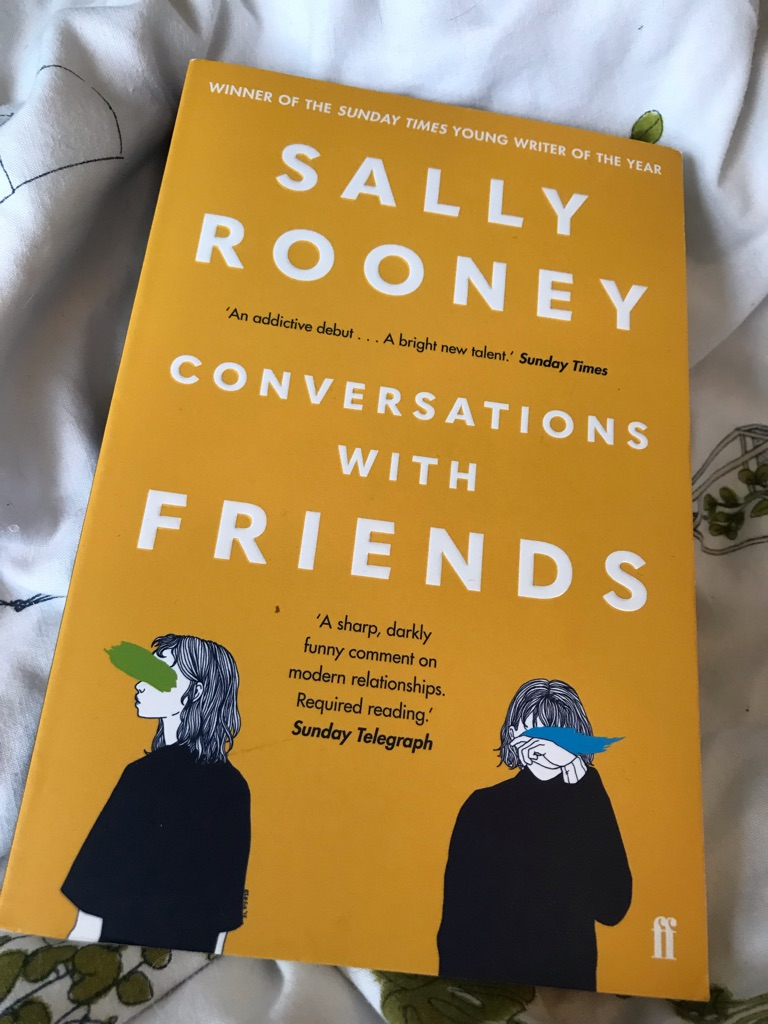 Conversations with friends- Sally Rooney book