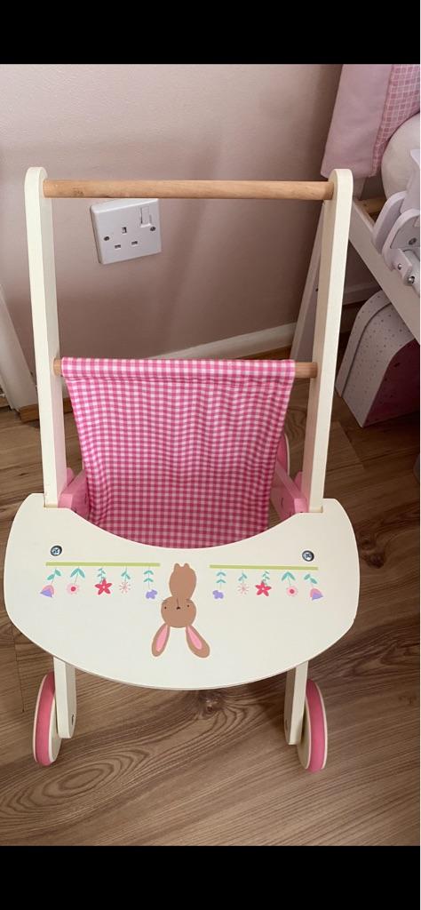 Toddler Wooden Pushchair