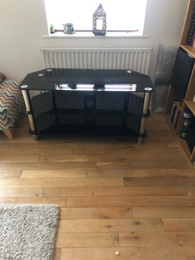 Tv stand and bookshelf