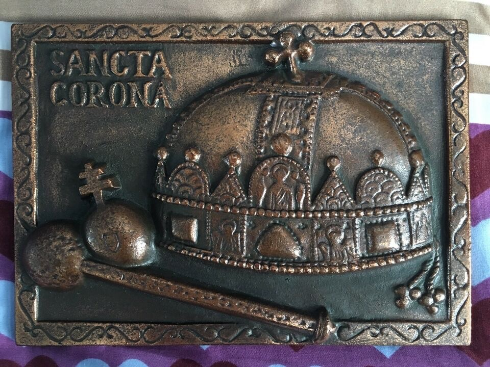 Brass Plaque from Hungary