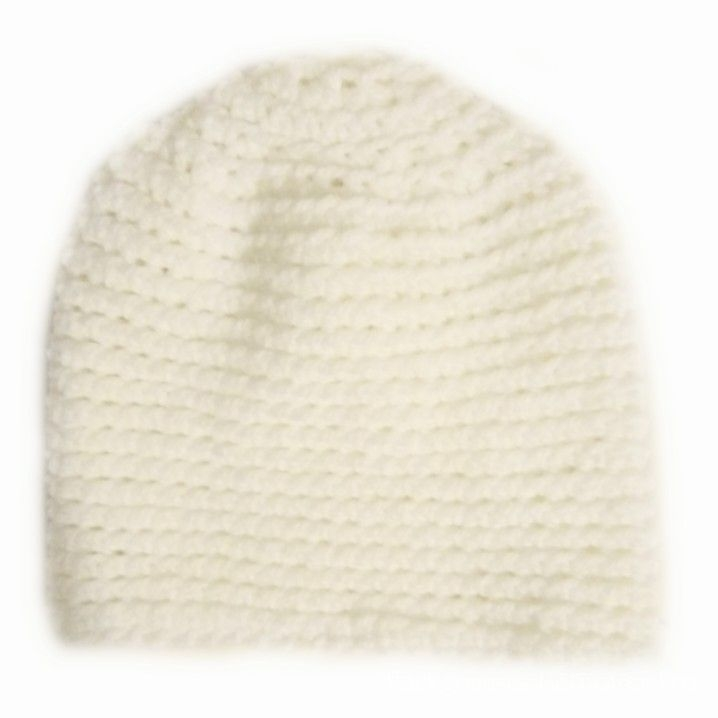 Handknitted Women's men's beanie hat