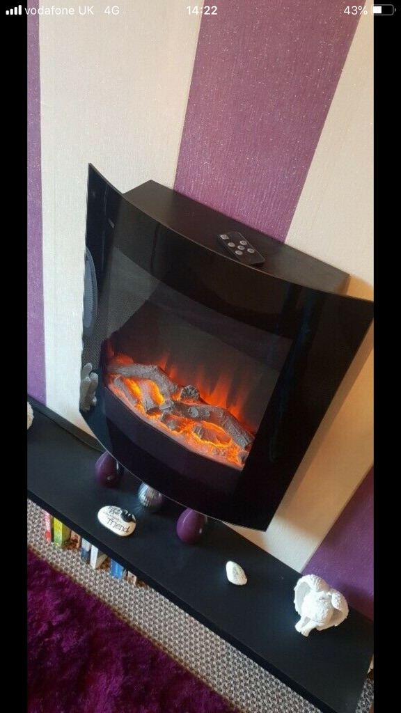 Electric fire- perfect condition