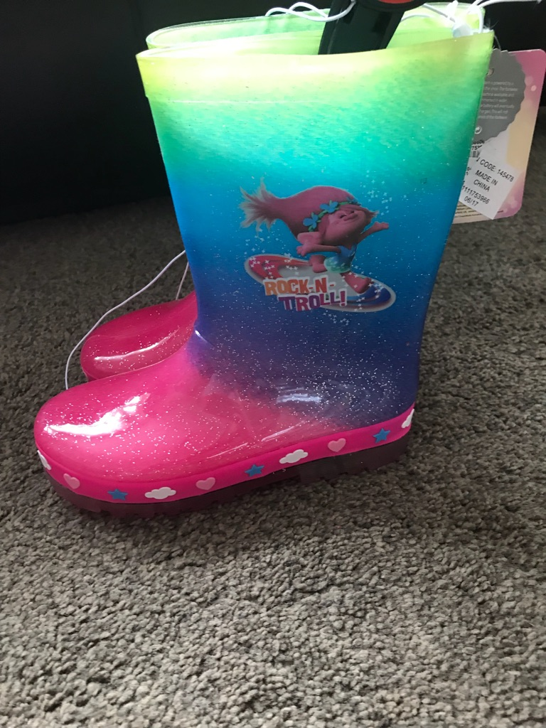 Troll wellies size 11