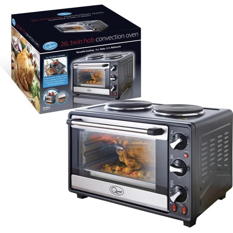 Quest mini oven and hob