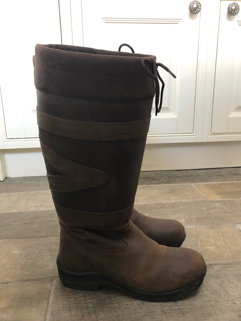 Toggi canyon riding boots 7 wide fit