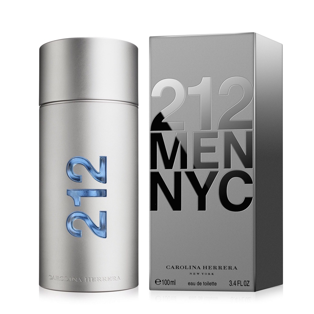212 Men By Carolina Herrera 3.4 oz