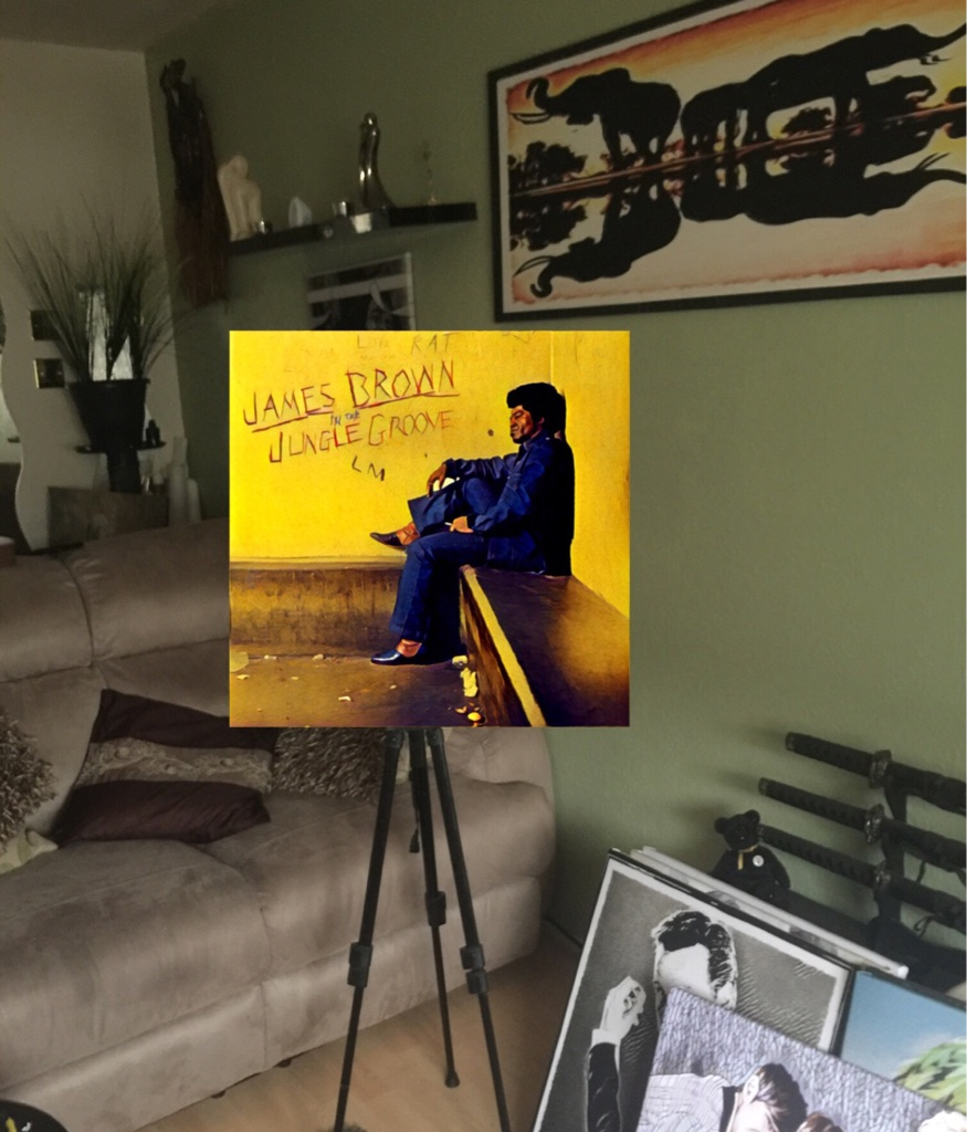 James Brown canvas print wall hanging ready to display