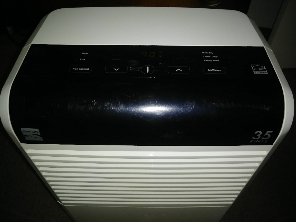 Kenmore 35 Pint Dehumidifier With Electronic Controls Energy Star - Model #50351