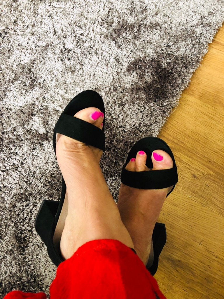 Women's Black shoes by Primark size 4