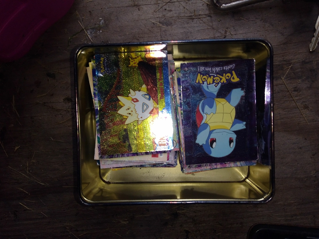 Topps pokemon cards