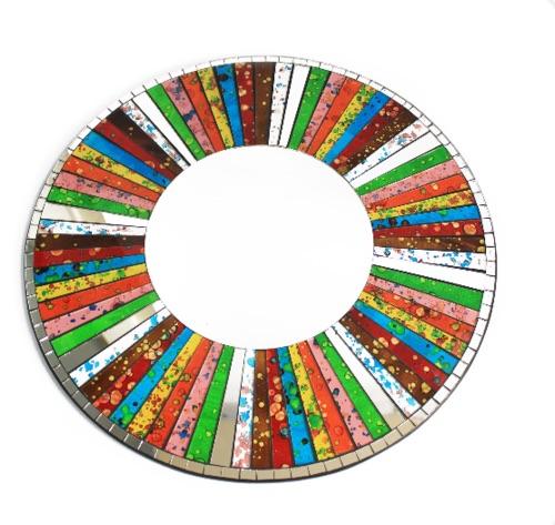 Classic round rainbow- 40cm