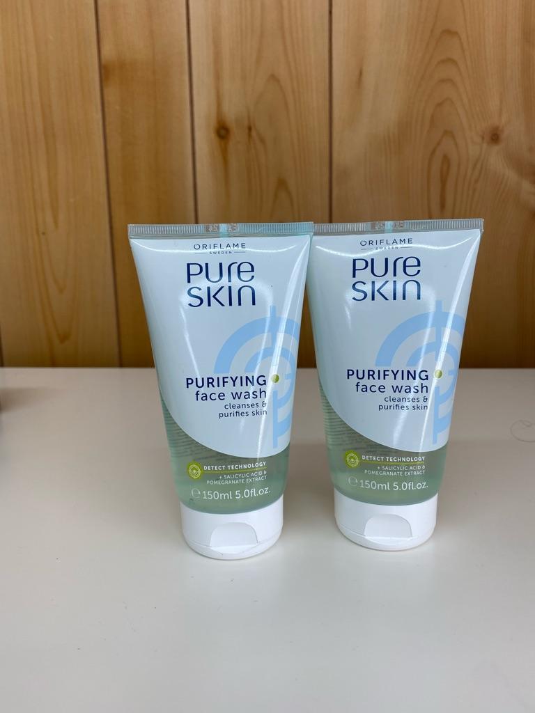 Pure skin face wash