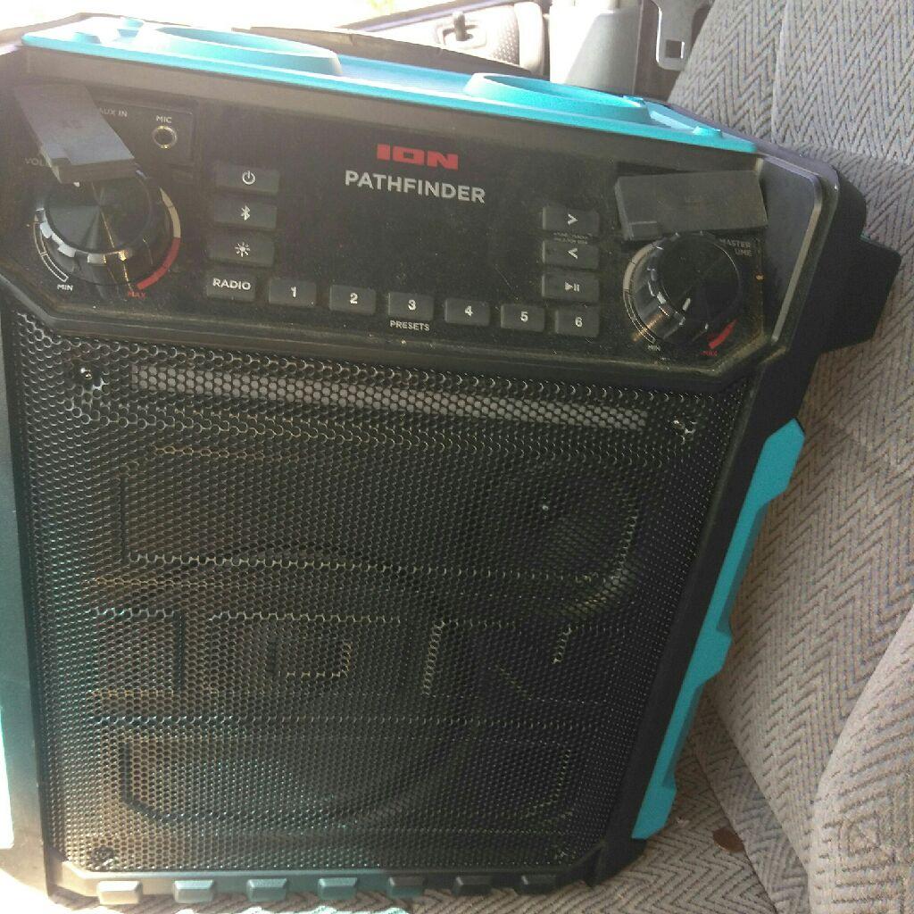 Ion Pathfinder bluetooth speaker