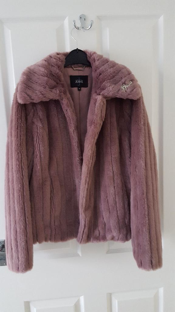 Jasper Conran faux fur jacket