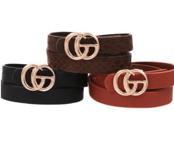 3 fashion belts 20% off using my code below