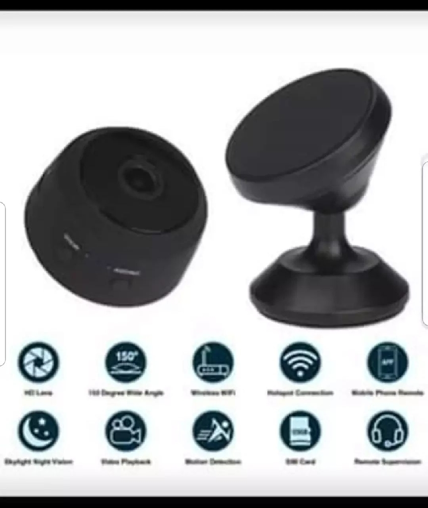 Mini HD Camera1080p Indoor Wi-fi Smart Home Security 32 GB SD CARD INCLUDED!