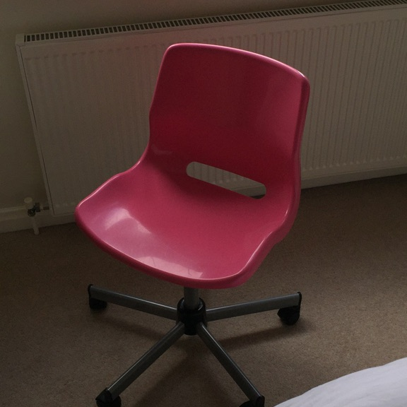 Ikea pink chair
