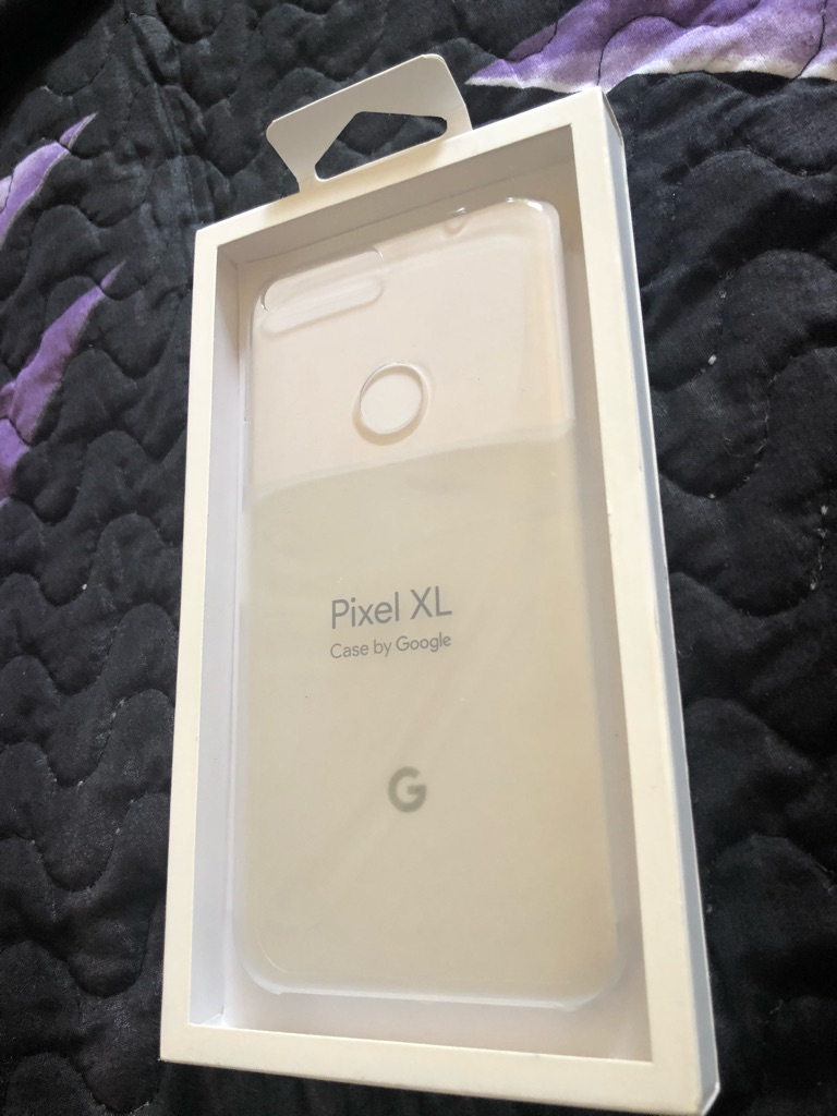 Pixel XL clear by google