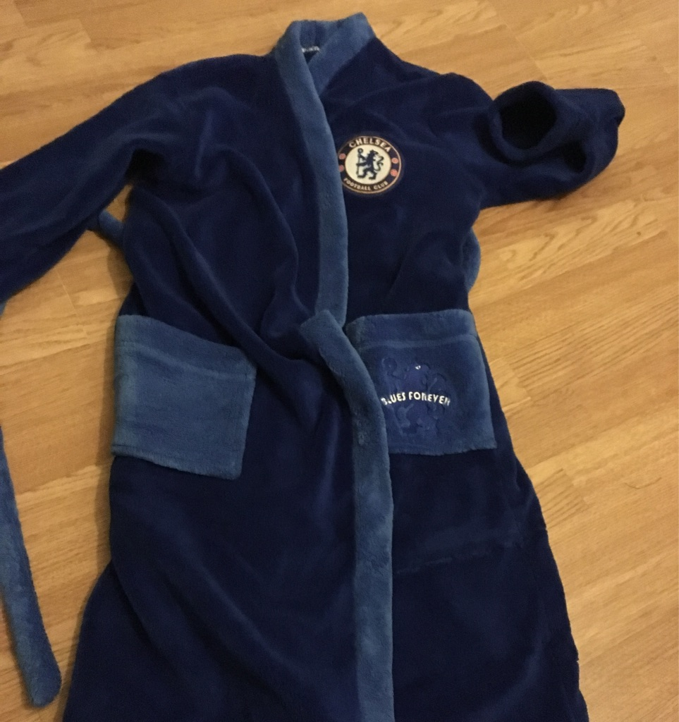 Chelsea Dressing Gown Size 11-12