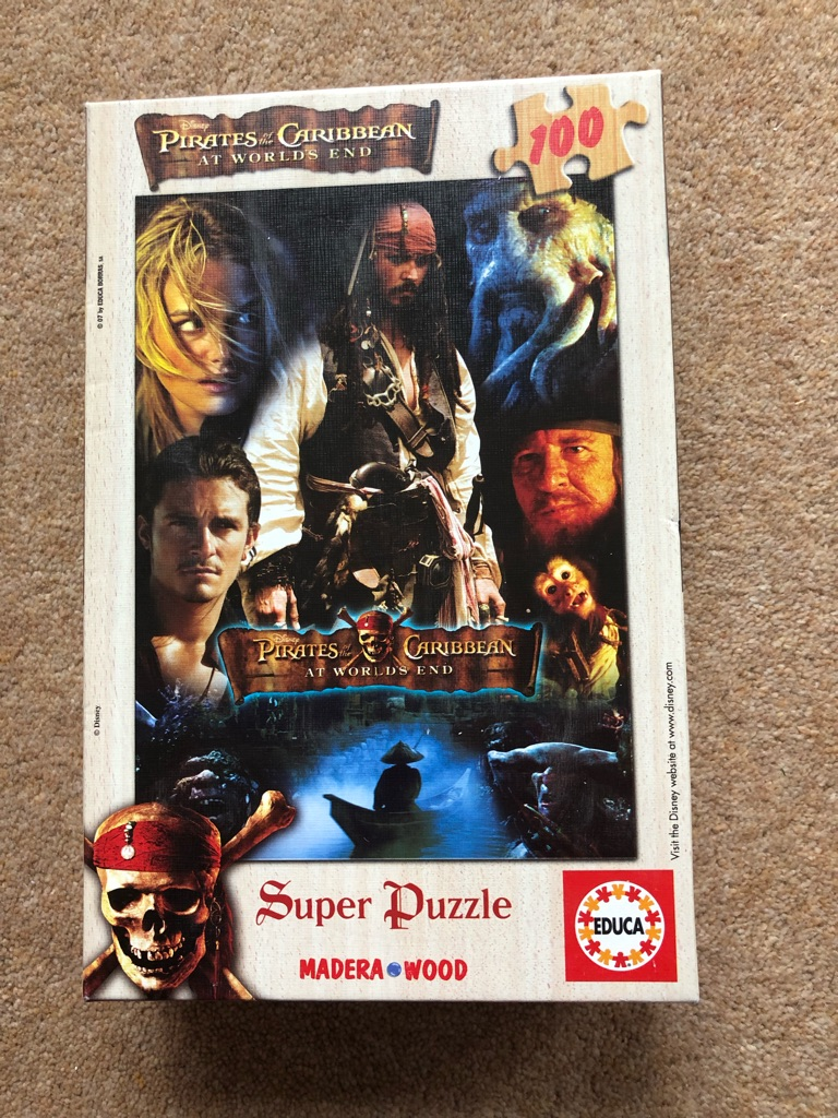Pirates of the Caribbean Puzzle