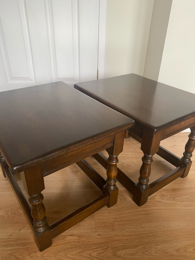 Jaycee Side Tables Old Charm Style