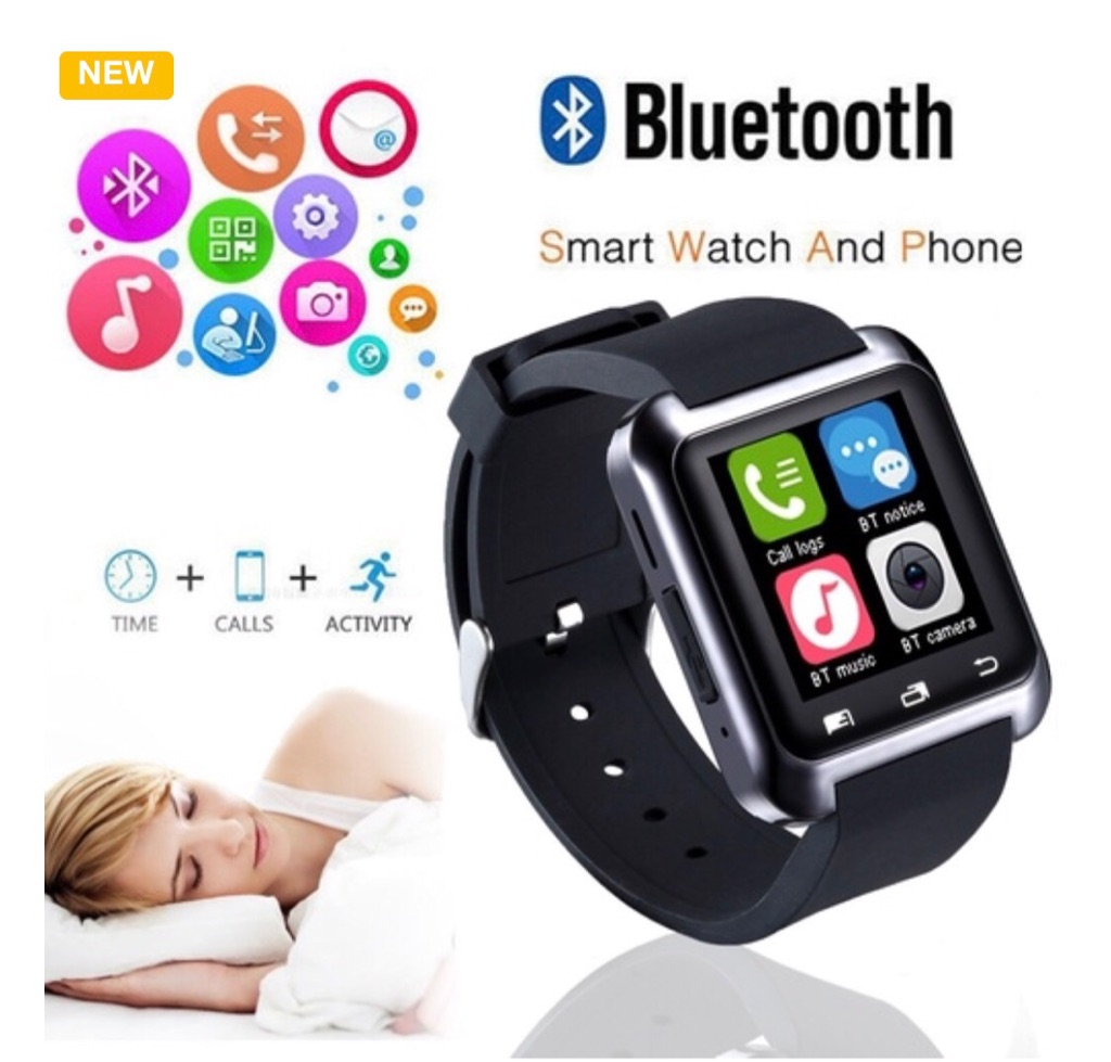 Bluetooth Clock Smart Watch Android Notification Health Monitor Reminder Smart Band for Smart Phone