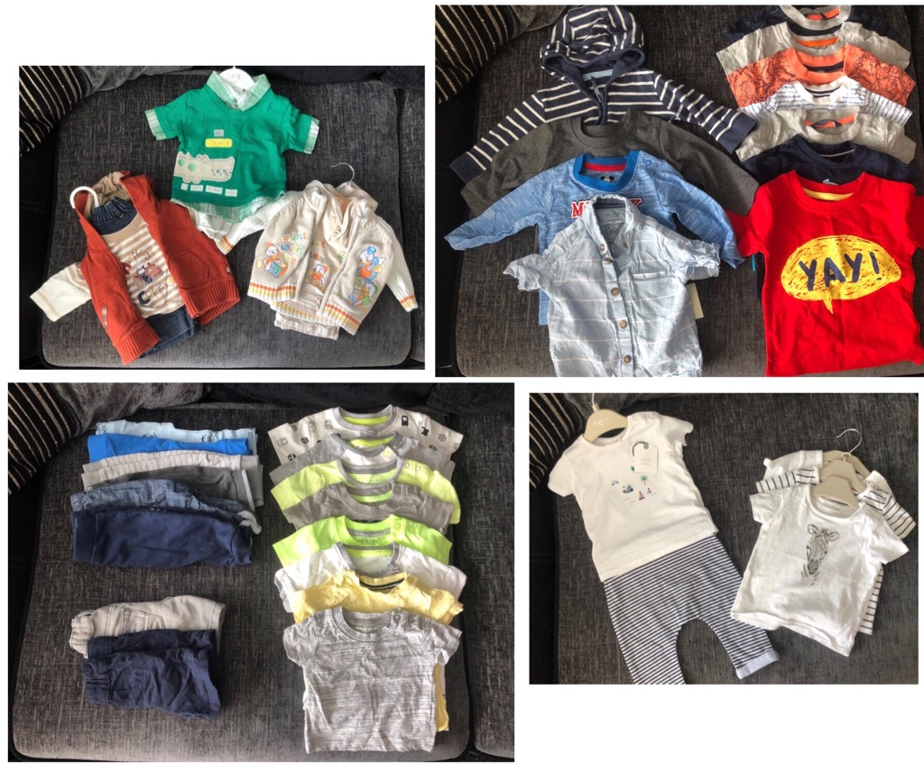 Massive Bundle Baby Boys 0-3 Months