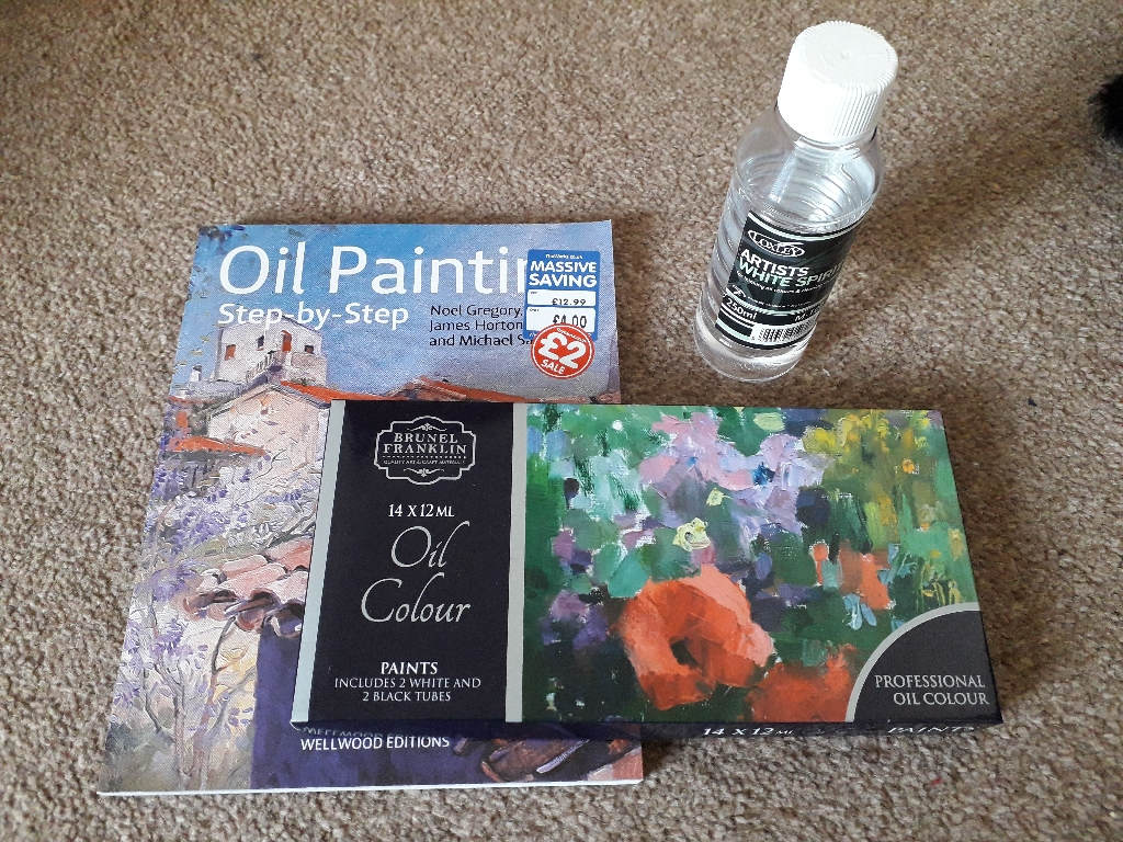 Oil Painting Starter Kit