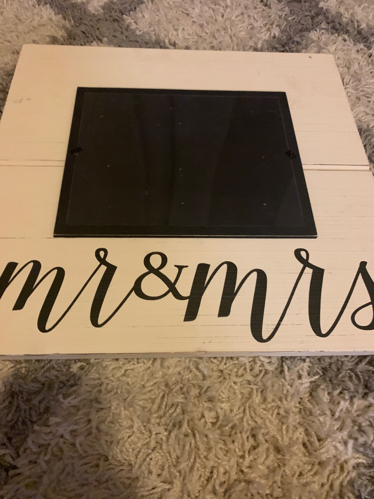 Mr. and Mrs. Mud Pie Frame