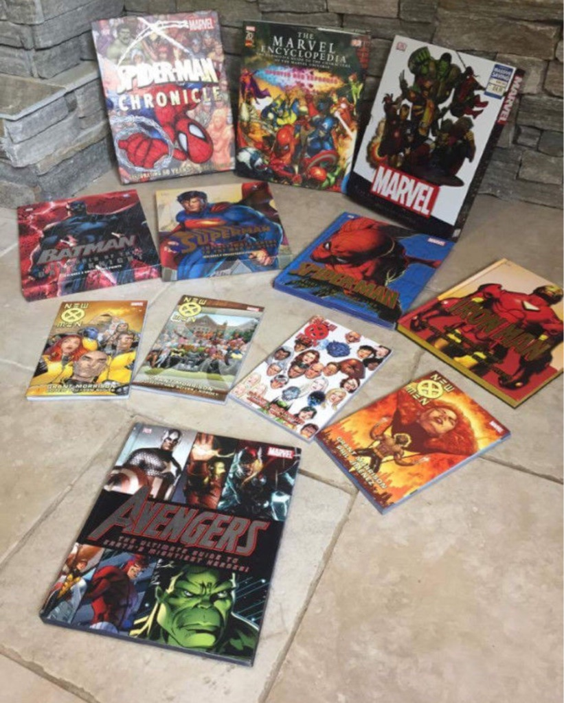 Marvel and other animated books and comics