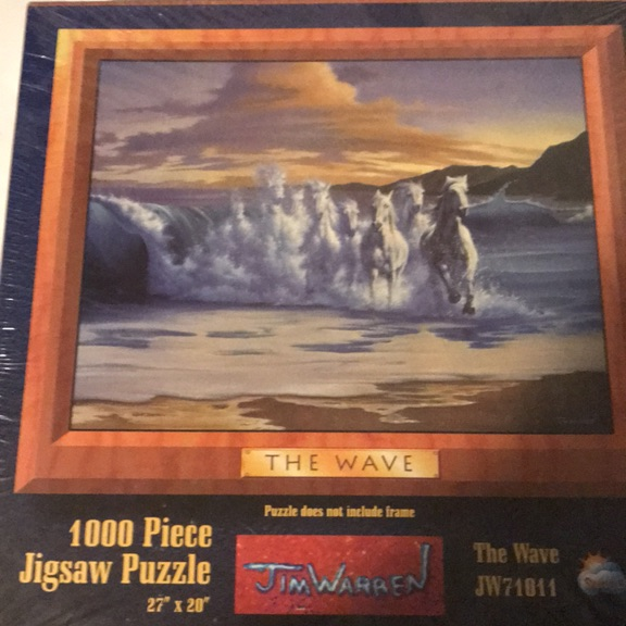 The wave jigsaw puzzle
