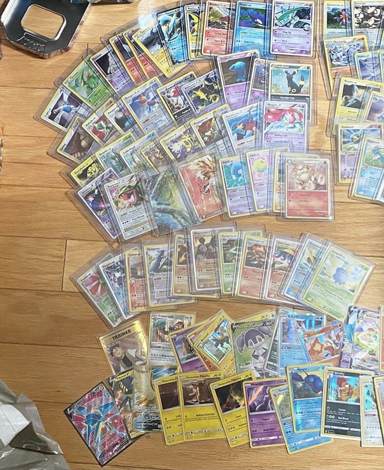 Pokemon Cards limited edition ove