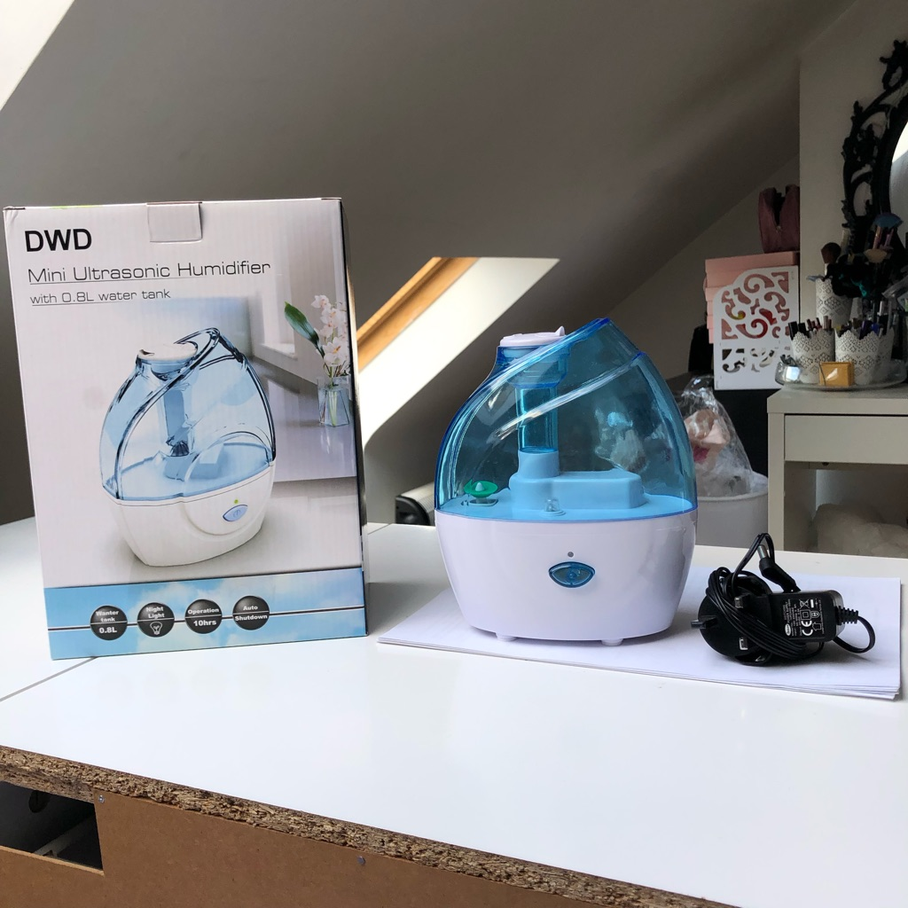 DWD Mini Ultrasonic Humidifier