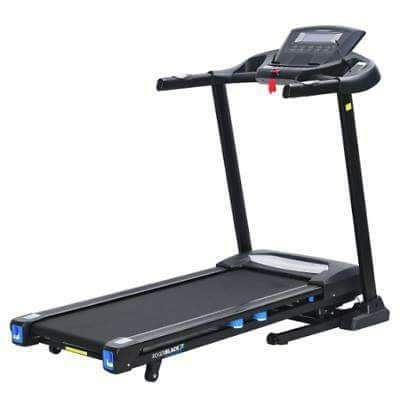 Roger black electric treadmill and weights set
