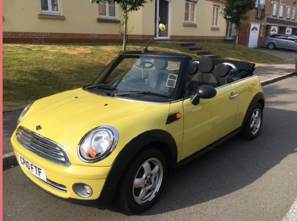 Mini Convertible 2010 1.6 Yellow