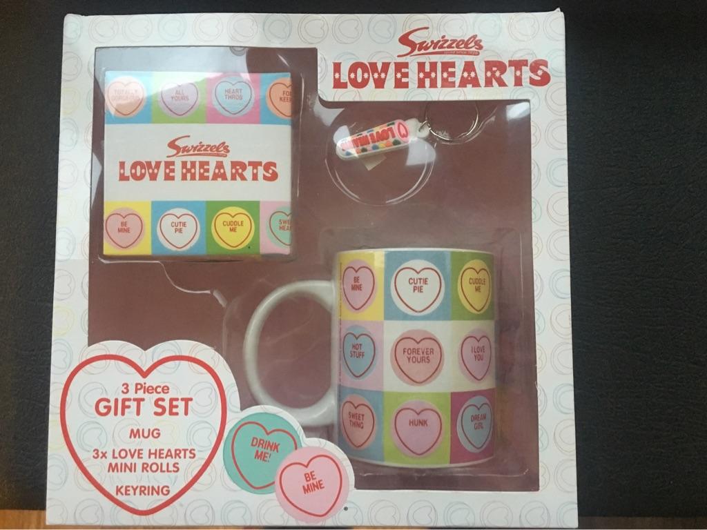 Swizzles Love Heart Gift Set New