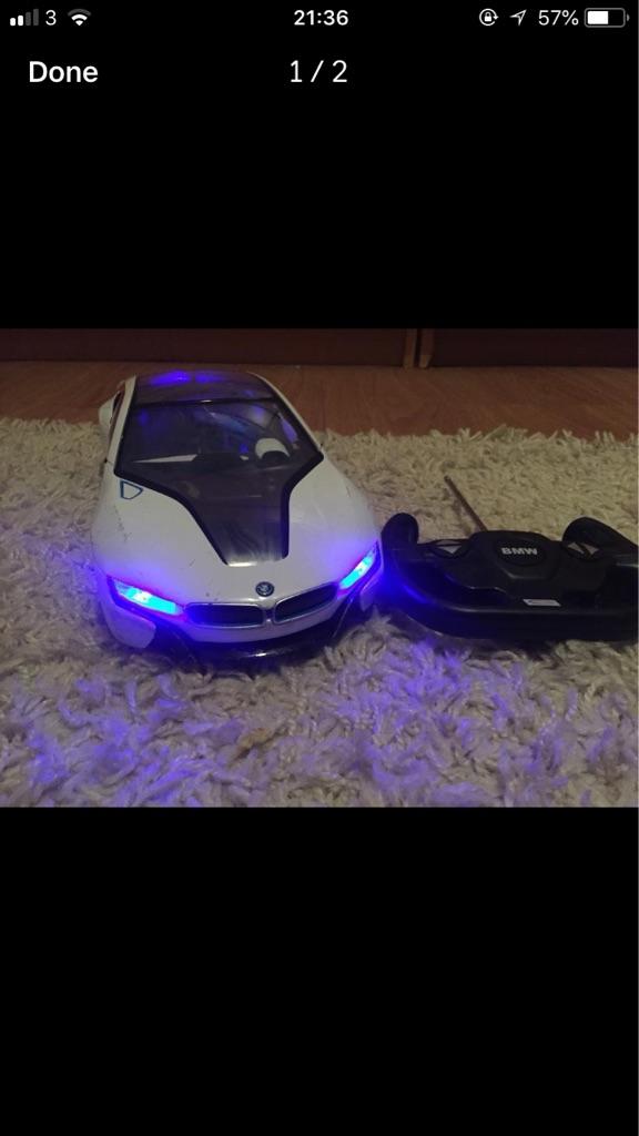 BMW large remote control car