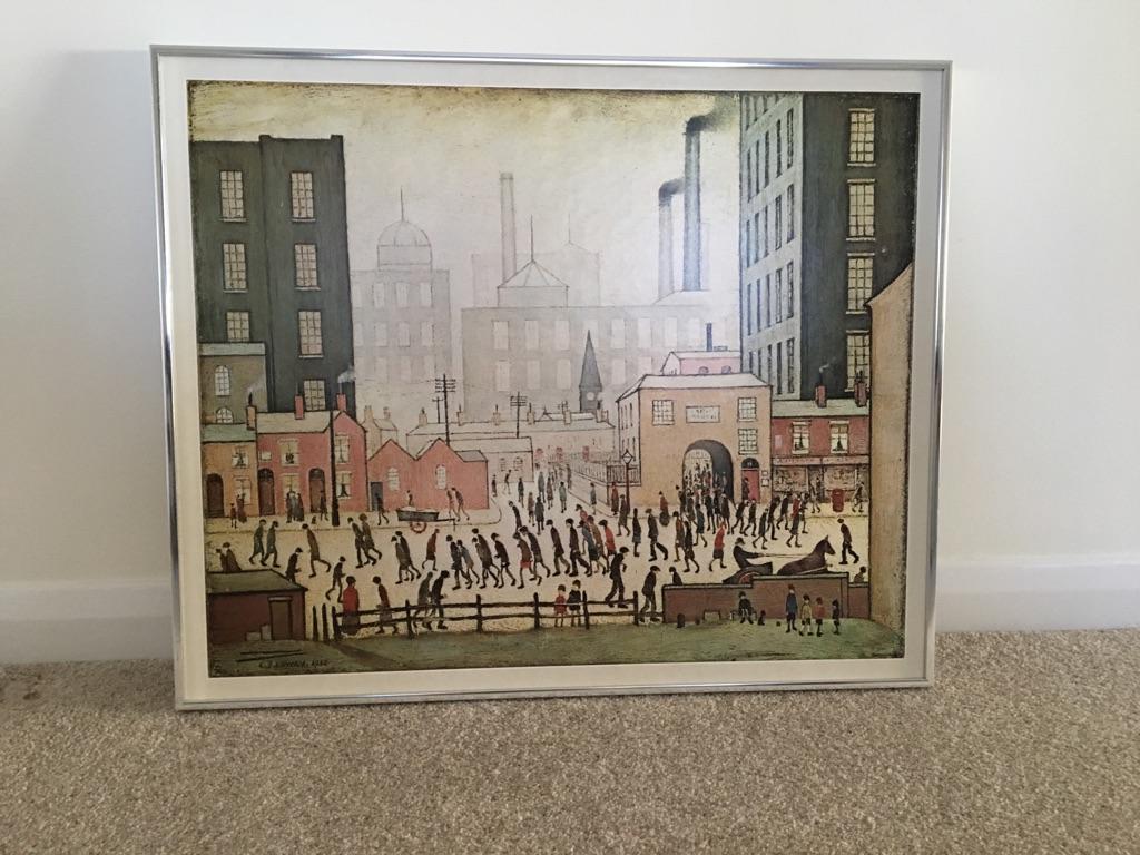 L.S.Lowry framed print