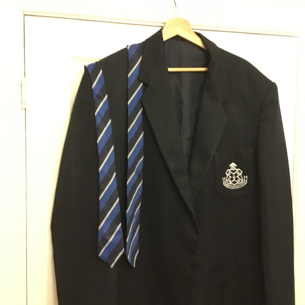 NEW Limavady Grammar School blazer and two Limavady Grammar School ties.