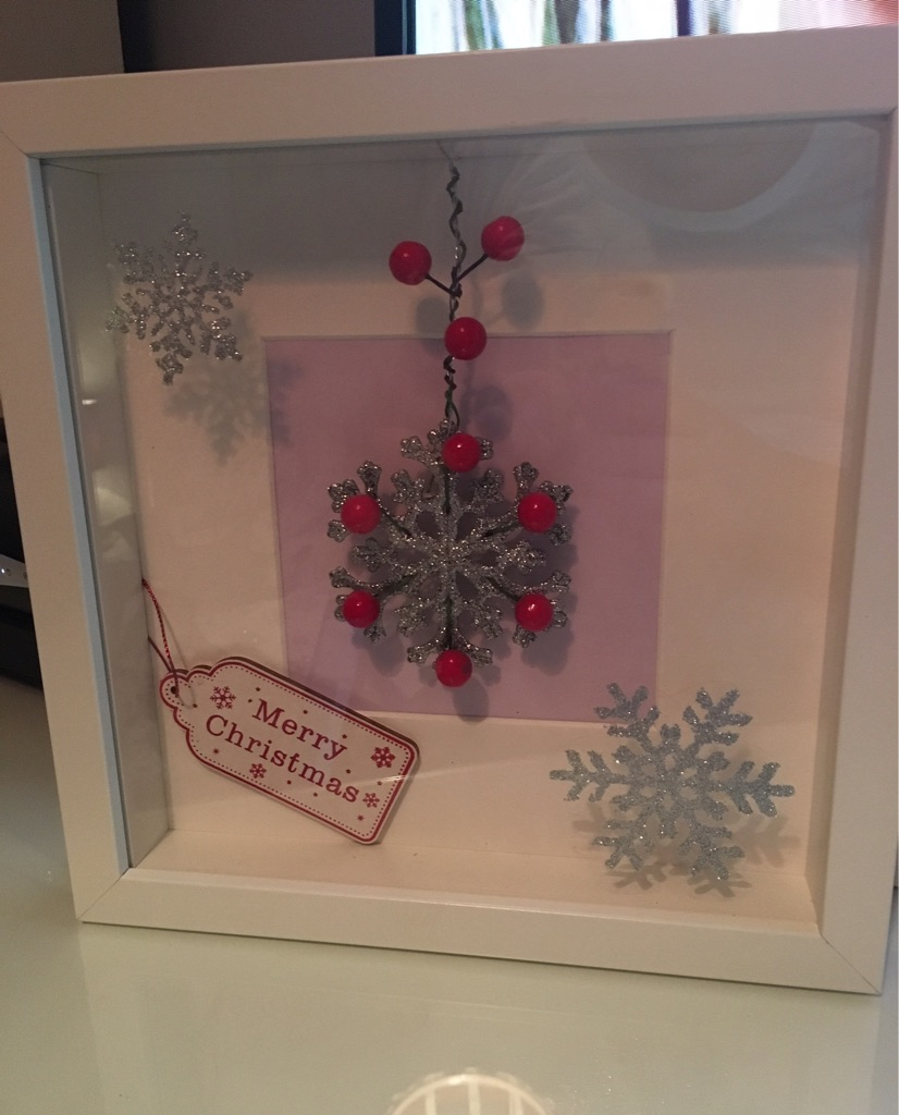 Personalised 3D box frames