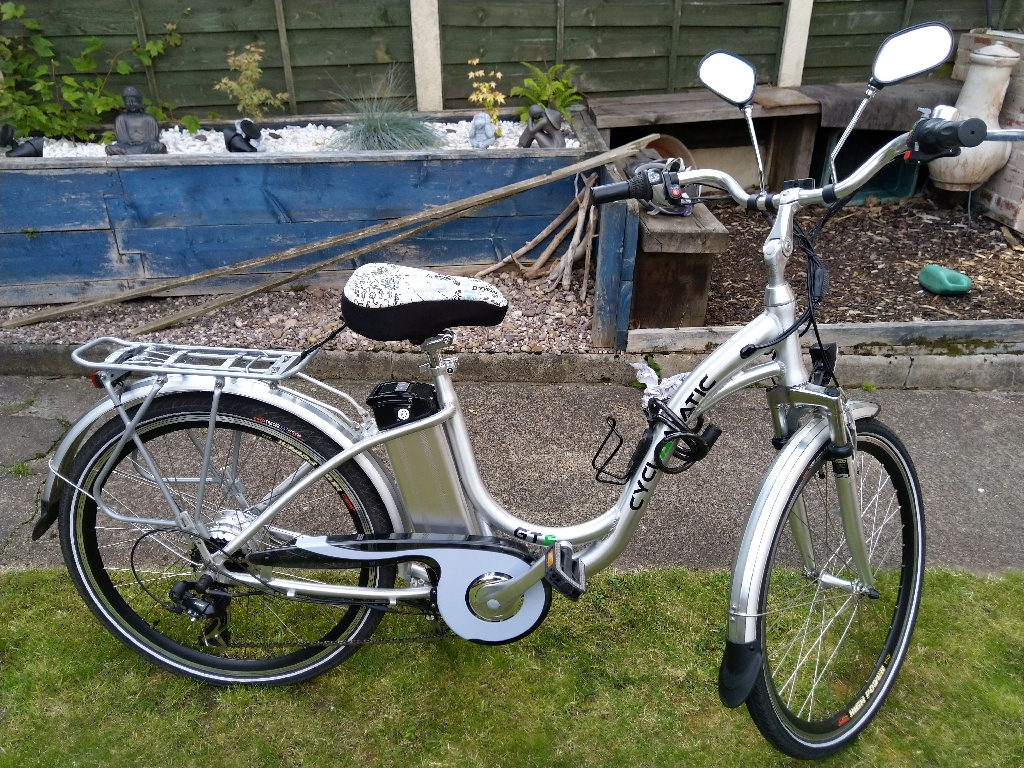 Cyclamatic E-bike Gte